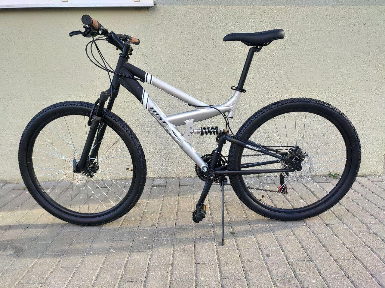 Горный велосипед AIST 26 сталь, двухподвес