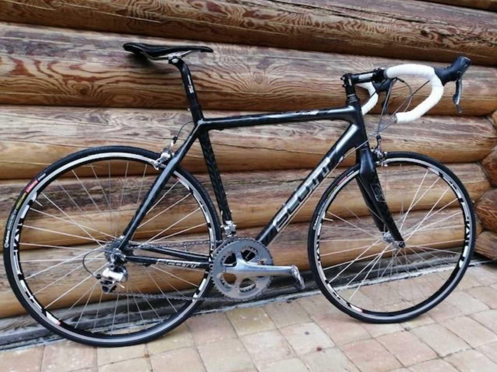 Велосипед шоссе SCOTT CR-1 SL – Dura Ace ,carbon