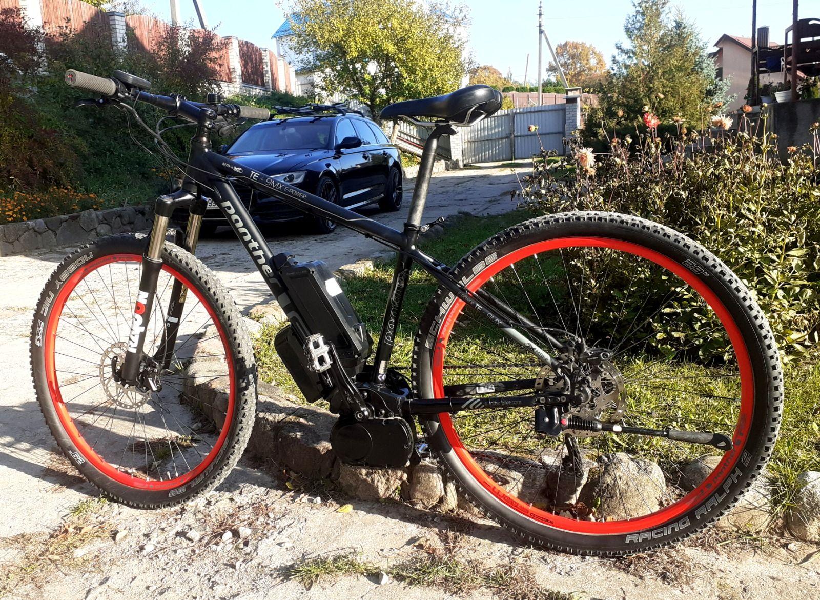 Электровелосипед PANTHER TE-9MX E-POWER