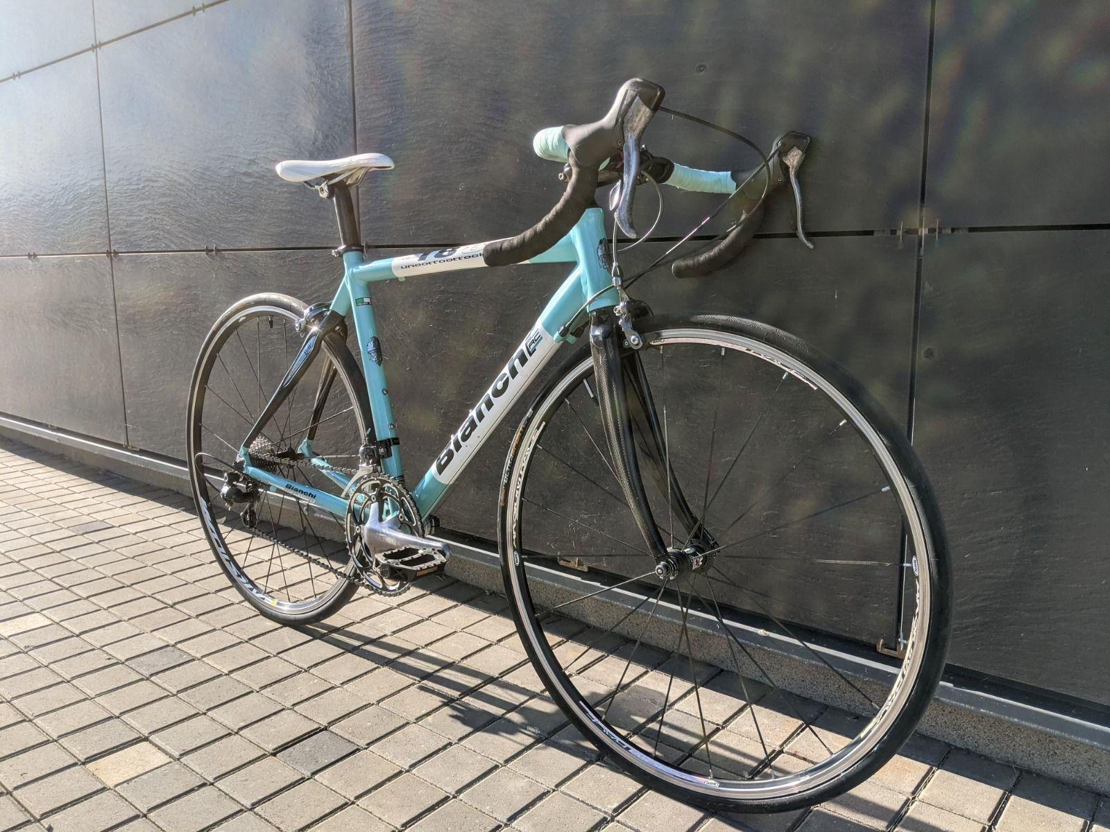 Шоссейный велосипед Bianchi 1885