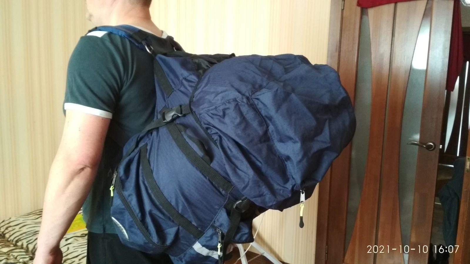 Велорюкзак на багажник Course 90л.