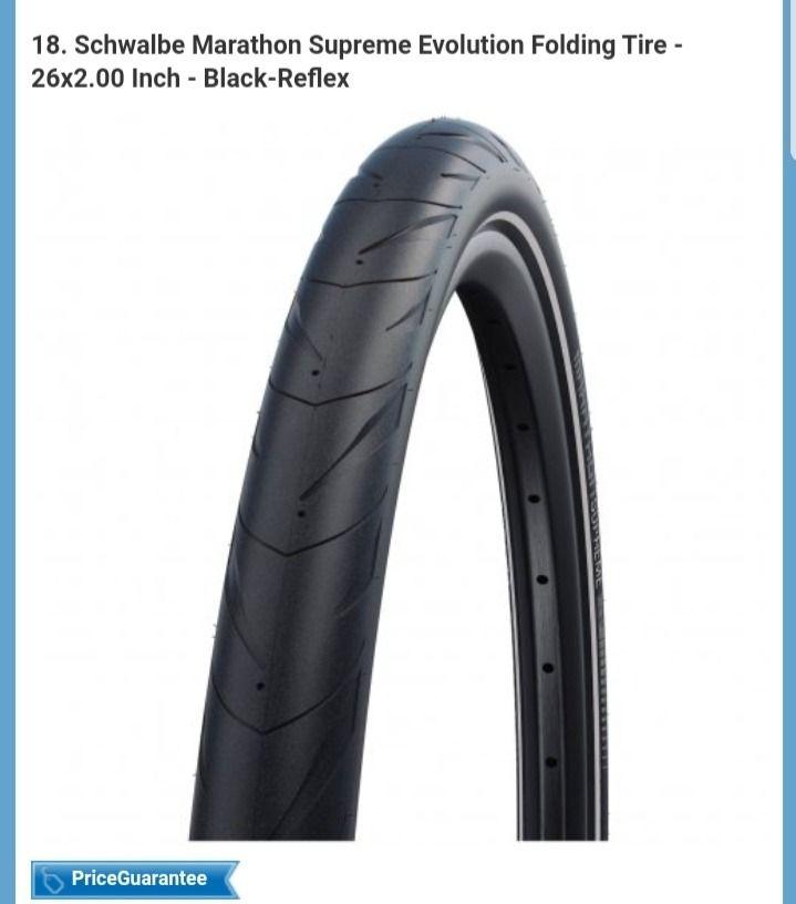 Schwalbe Marathon Supreme Evolution Folding Tire - 26x2.00