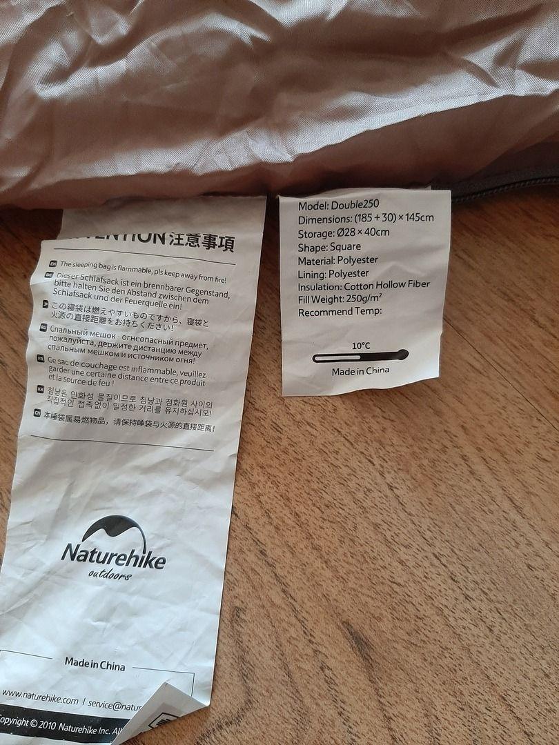 Спальный мешок Naturehike DOUBLE 250