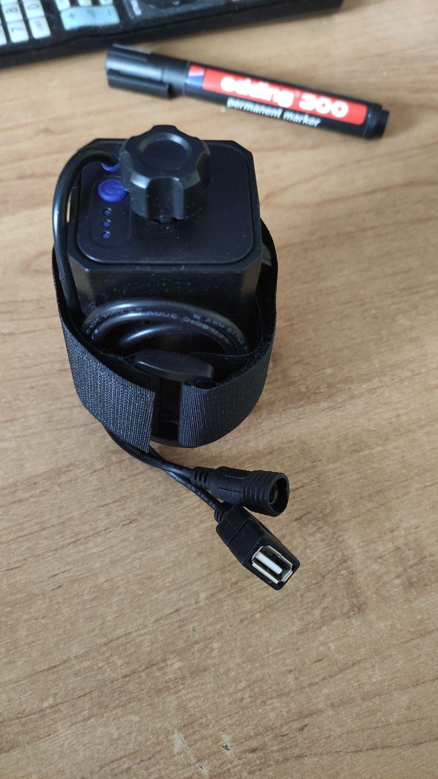 Бокс- пауэрбанк для аккумуляторов 18650 для SolarStorm, 8.4 V, USB 5 V.