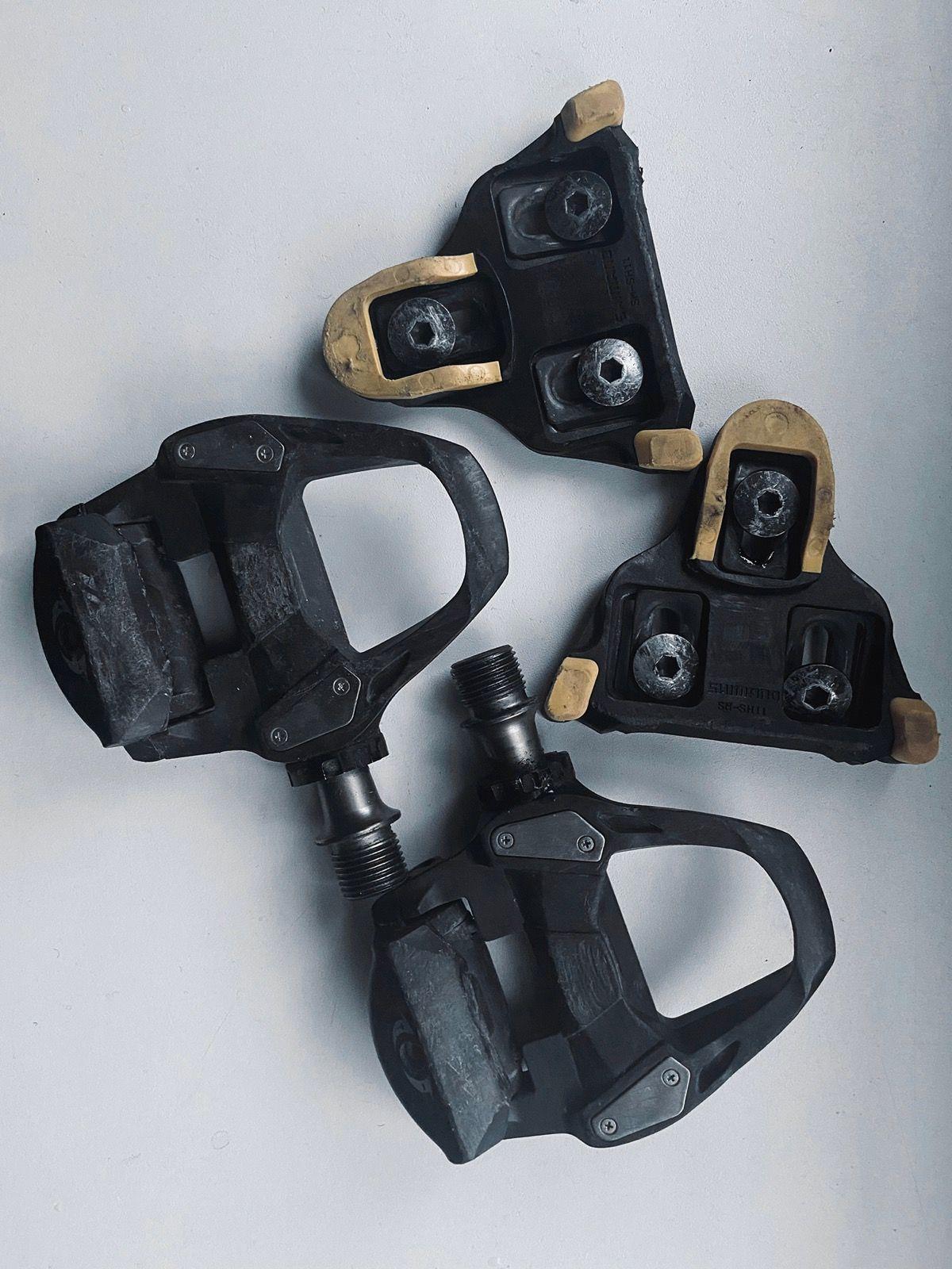 Педали Shimano PD-R7000, SPD-SL, карбон