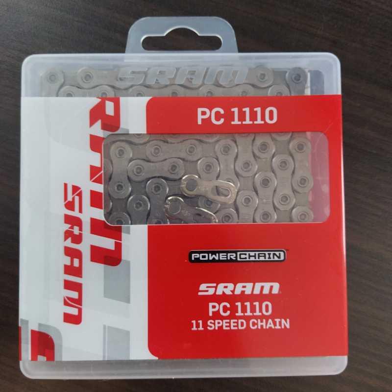 Цепь 11 скоростная Sram PC 1110  замок вкомплекте 114 звеньев