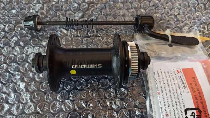 Передняя втулка Shimano HB-RM33 с эксцентриками