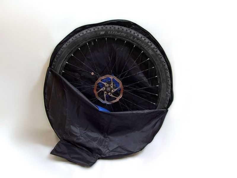 Чехол для перевозки велосипедного колеса
