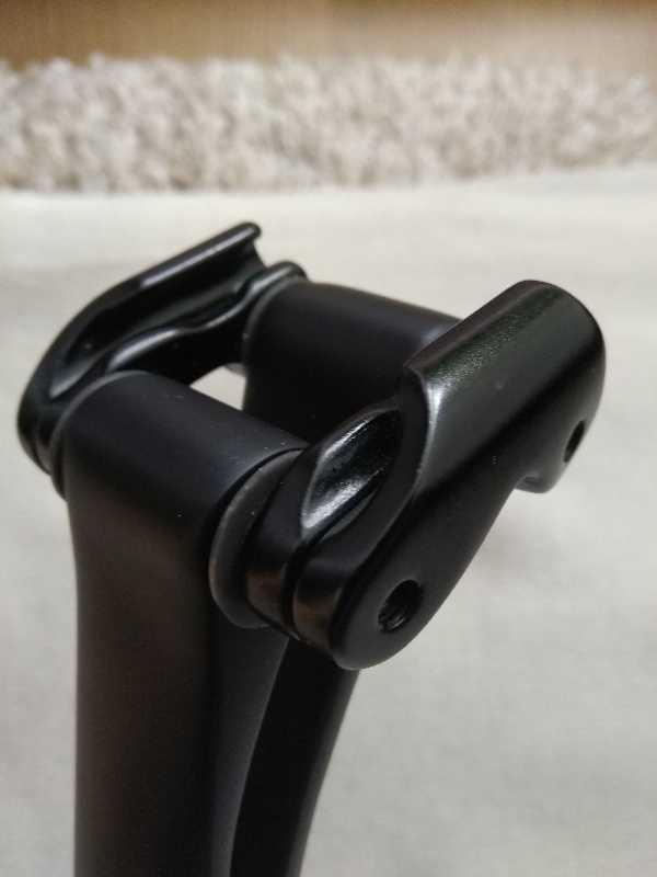 В продаже карбоновый подседел 31,6/330, 20°.