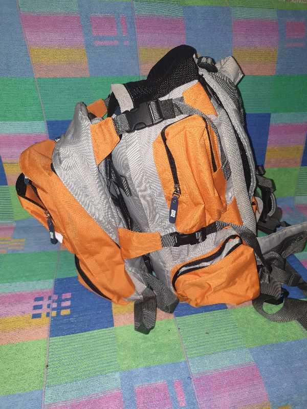 Настоящий американский двойной рюкзак трансформер DC Shoes