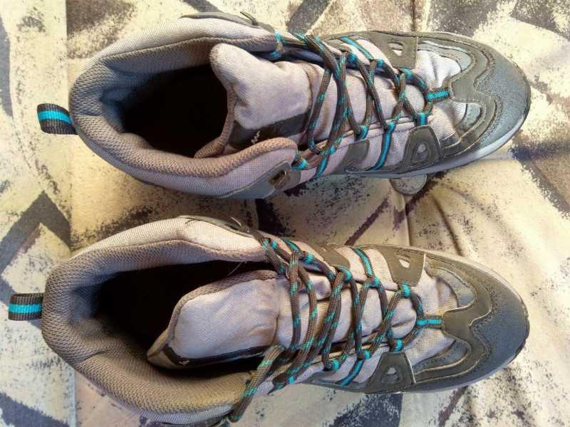 Туристические ботинки Quechua р-р 45