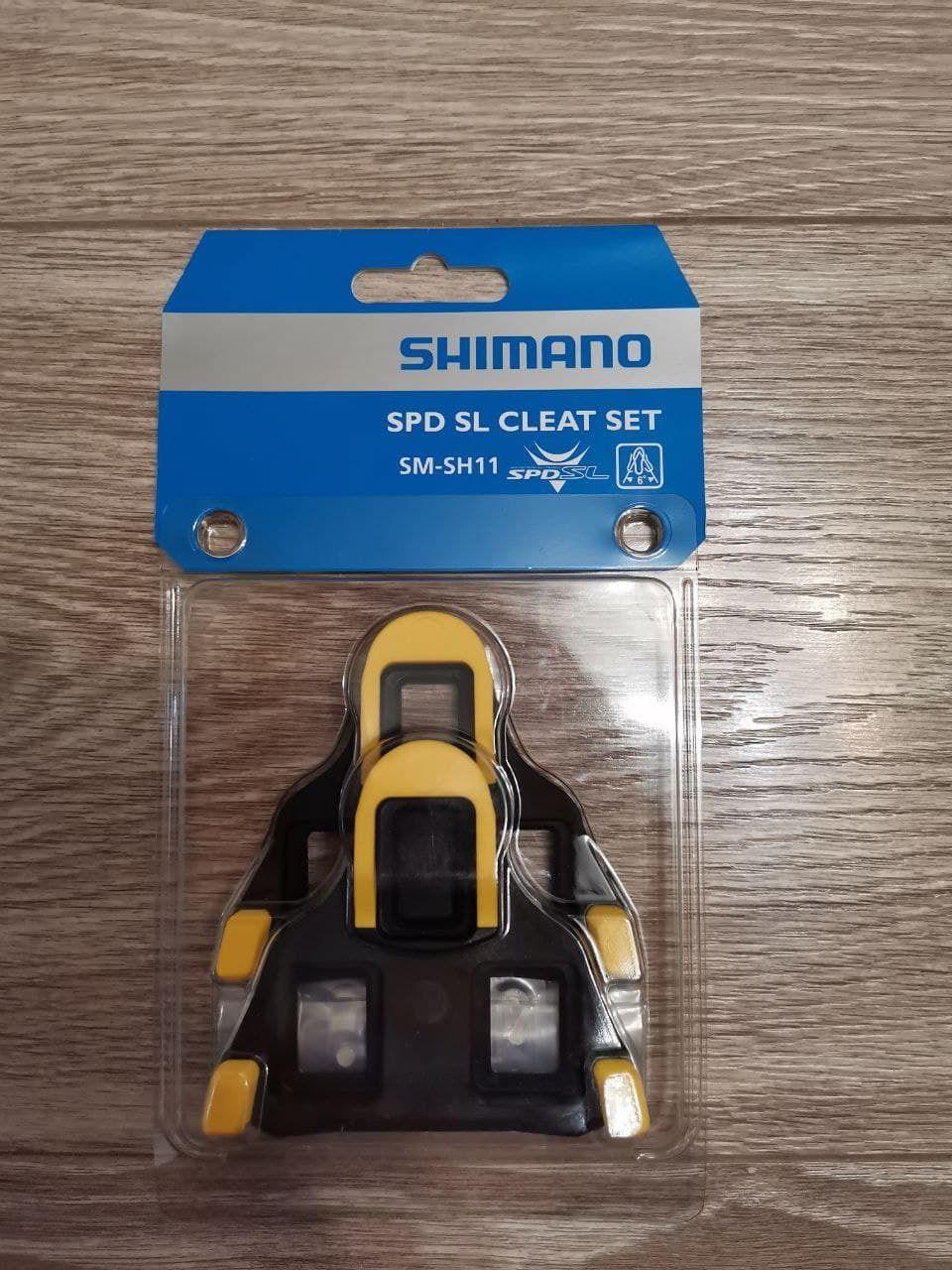 Новые шоссейные шипы Shimano SH-11