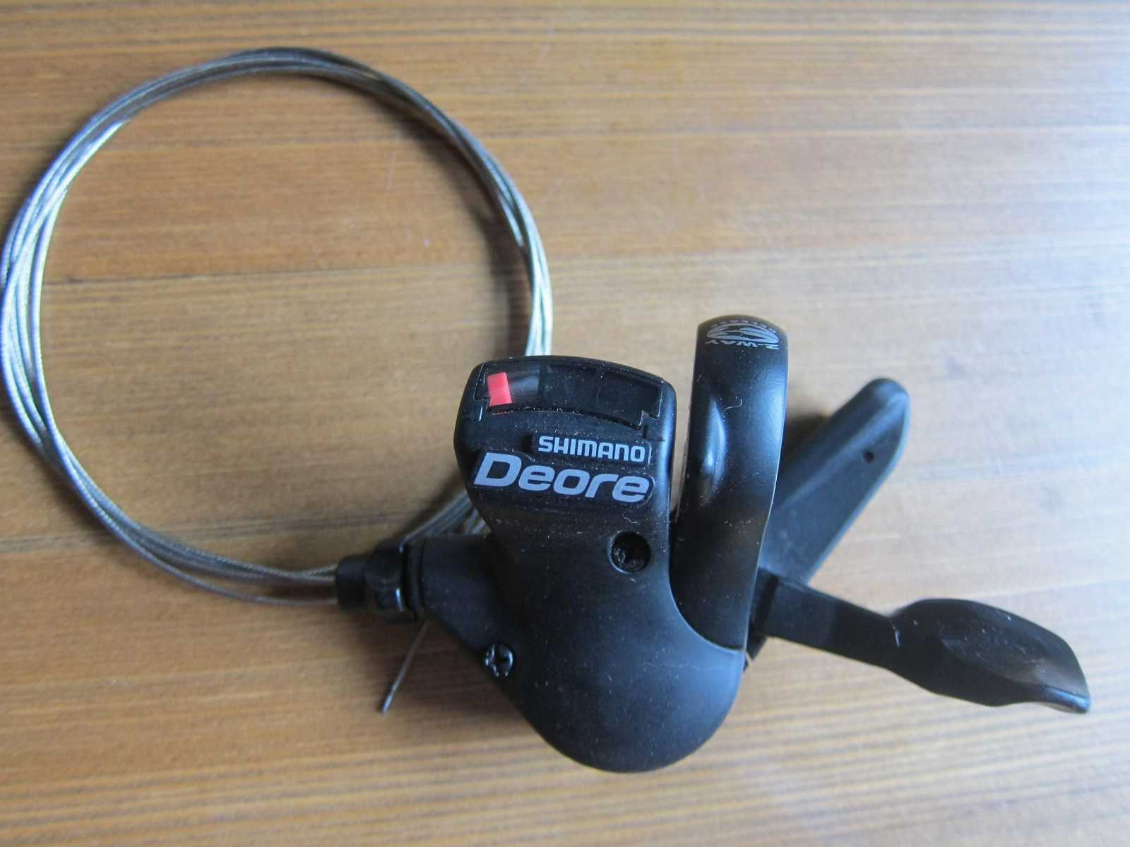 манетку 3ск новую Shimano Deore SL-M530 Japan