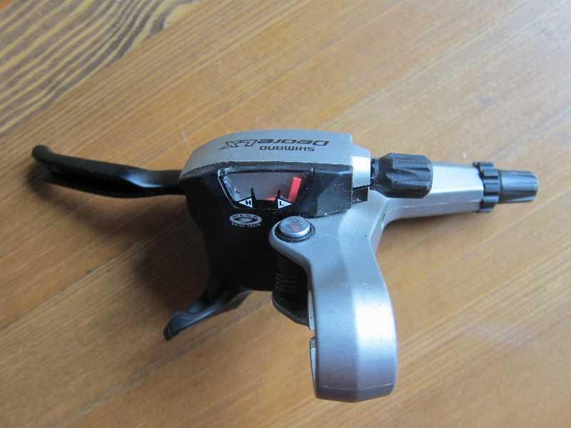 манетку перед Новую ДУАЛ (совмещенная с тормозом) Deore LX ST-M580 Japan 3ск