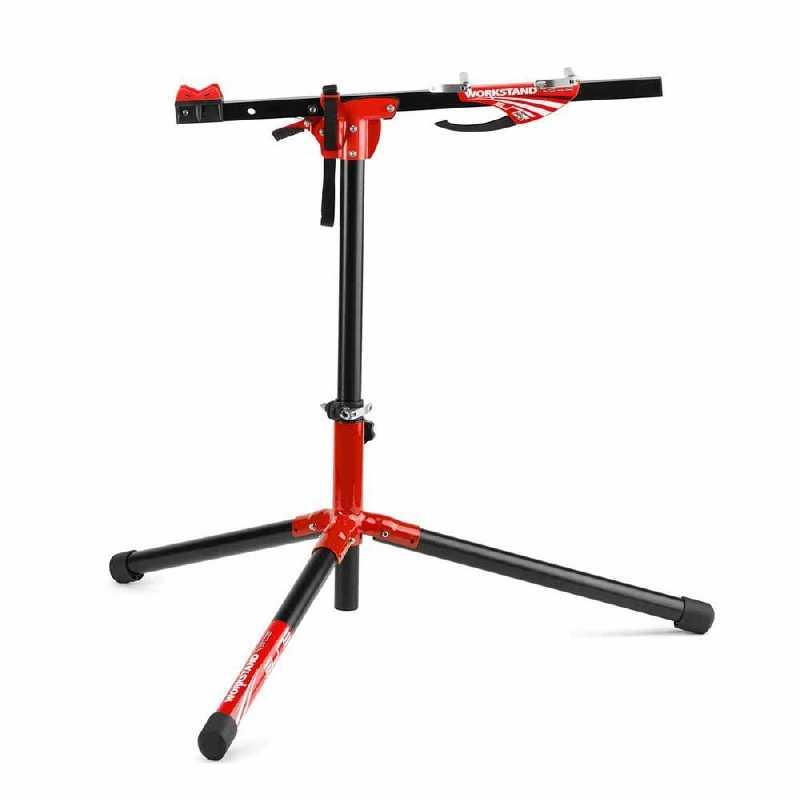 профессиональный стенд Elite Race Pro для обслуживания велосипеда+сьемный лоток для инструментов Topeak Workshop Prep Stand