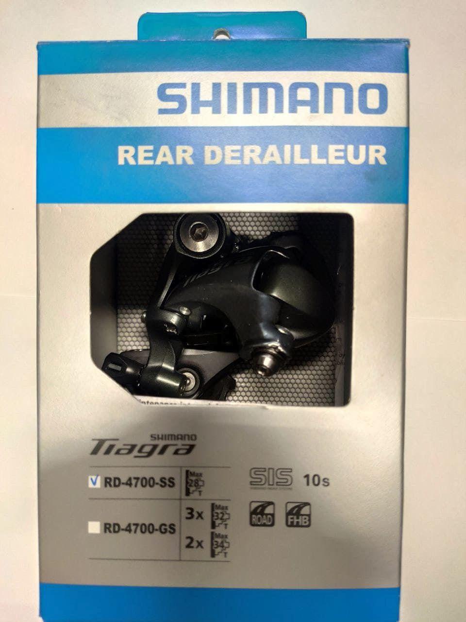 Переключатель задний 10ск Shimano Tiagra RD-4700-SS. Новый.