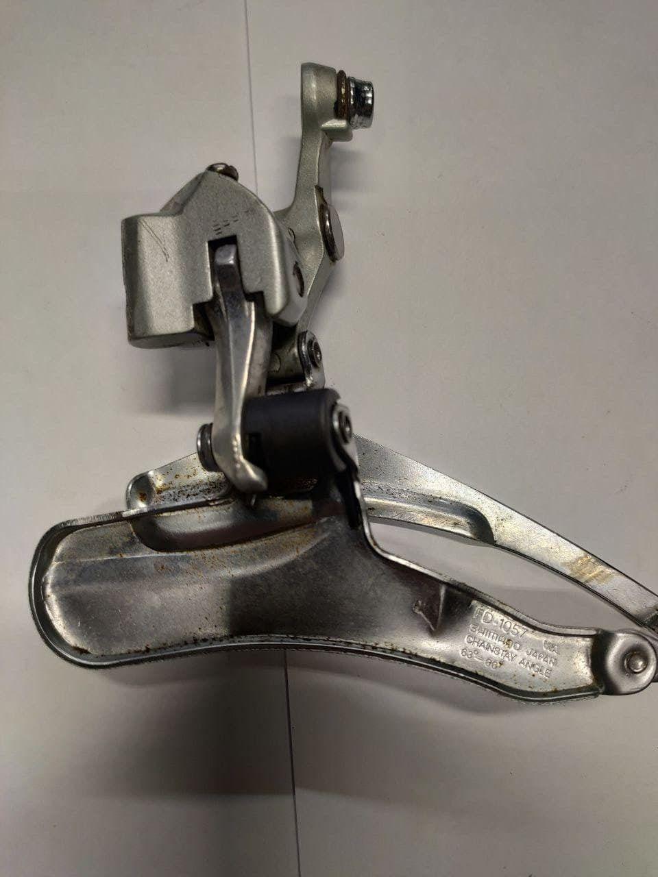 Переключатель передний Shimano FD-1057, 105SC (braze-on) 3х9sp