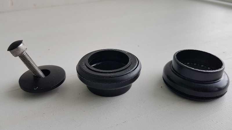 Рулев.колонка,с внешними чашками,размер: 1 1/8.
