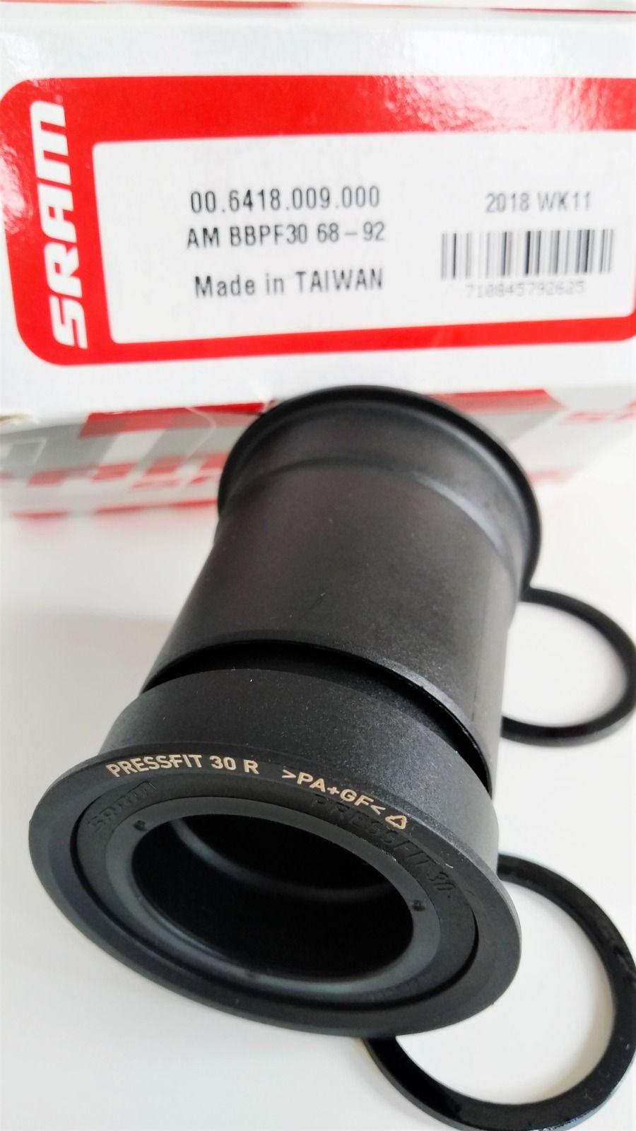 Каретка SRAM PF30 (BB30A/BBRIGHT/BB386) (68-92MM) (30MM SPINDLE)