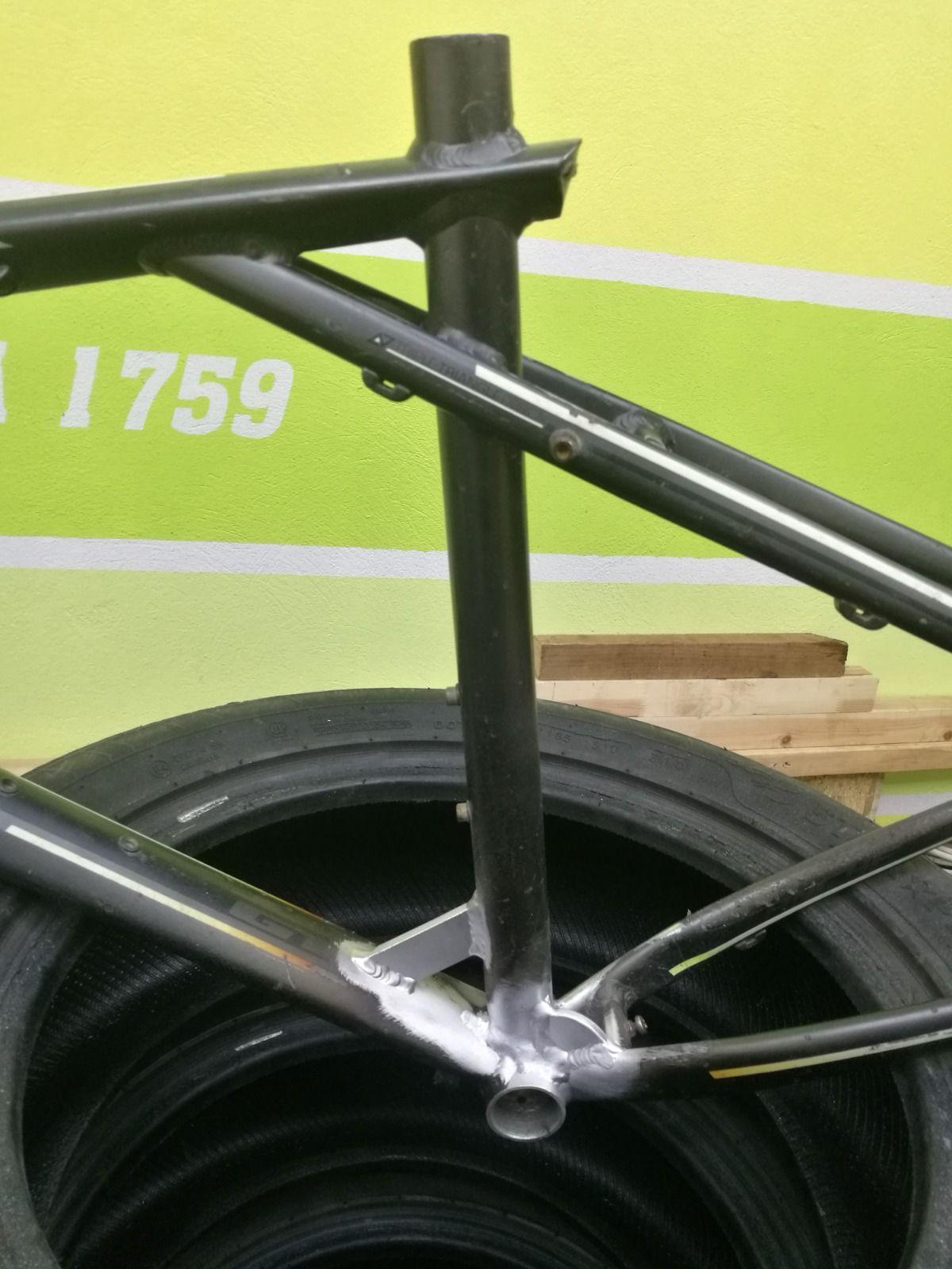 TIG сварка велосипедных рам