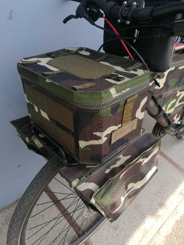 Изготовим сумки для велосипеда.