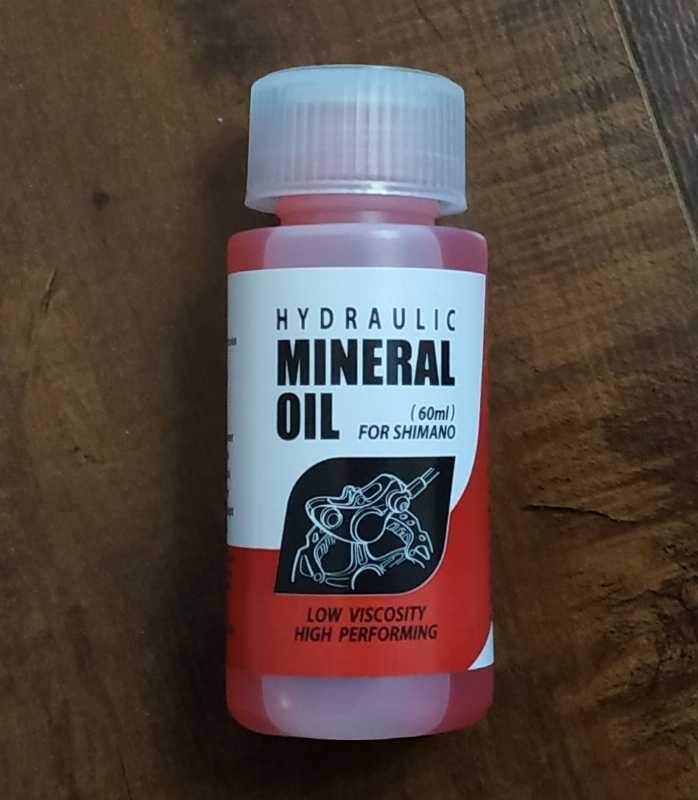 Минеральное масло для тормозов Shimano