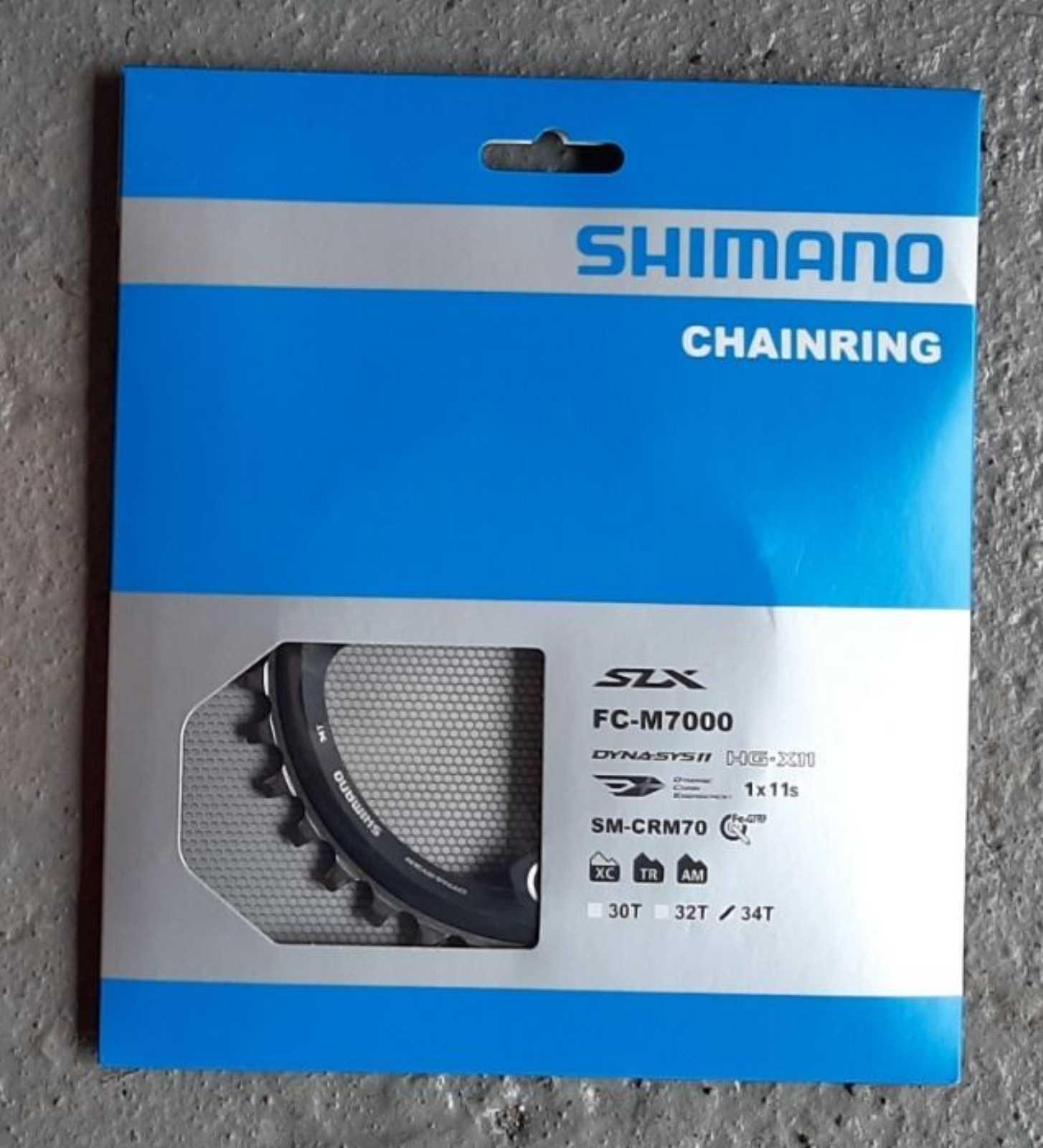 Звезда 34Т SHIMANO FC-M7000