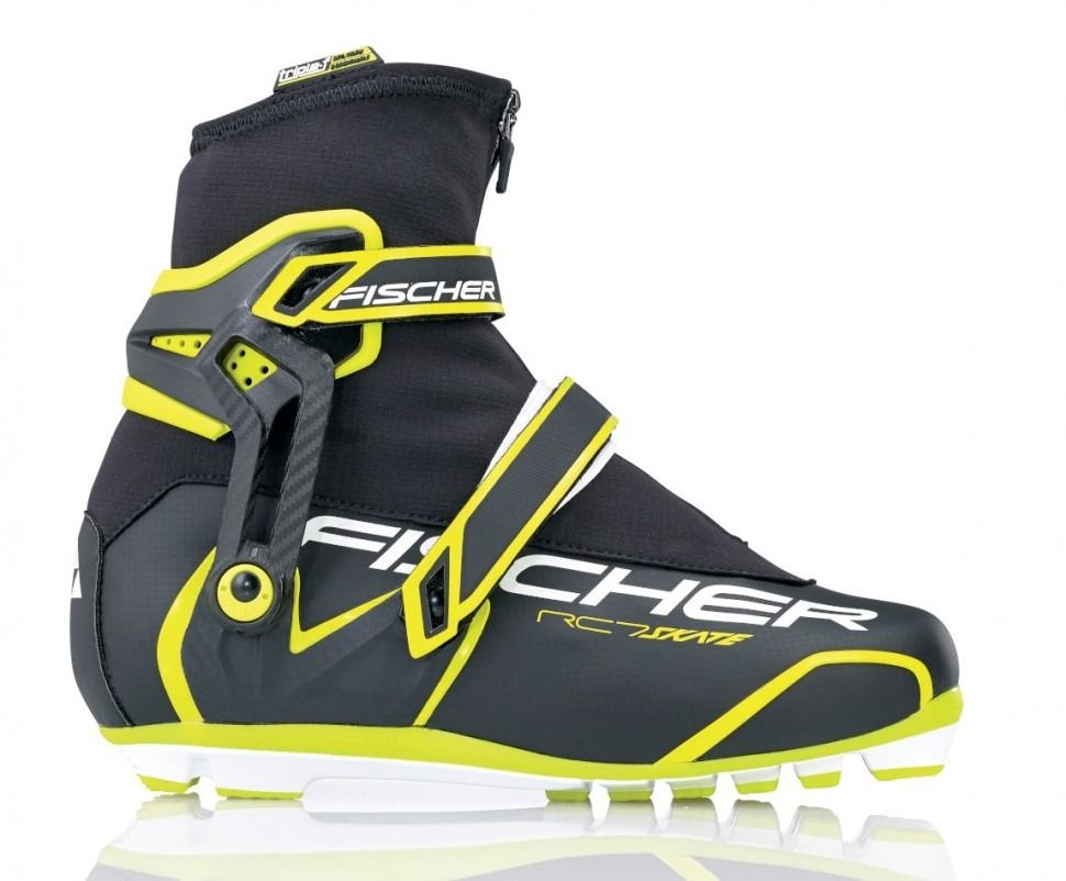 Лыжные ботинки Fisher RC7 Skate размер 43 euro по стельке 27.5 см. Новые.