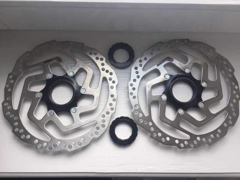 Роторы shimano centre lock 180mm NEW