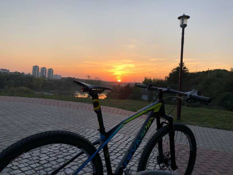карбоновый найнер Olympia Iron 29 2018 комплектация Team 3S