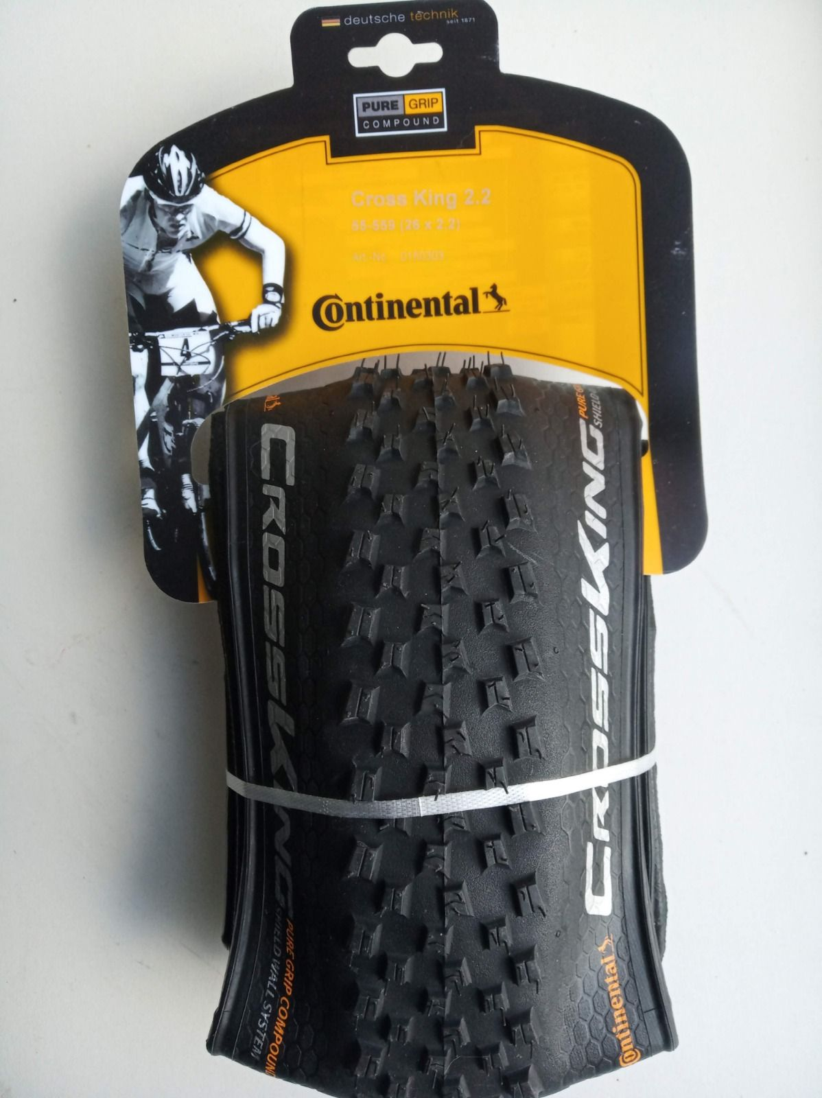 Continental Cross King 26*2.2 Folding Tyre