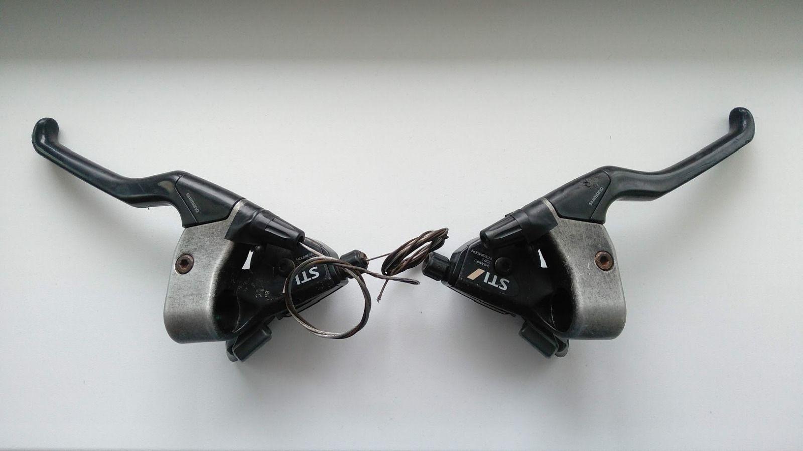 Комбинированные манетки Shimano Exage 500LX