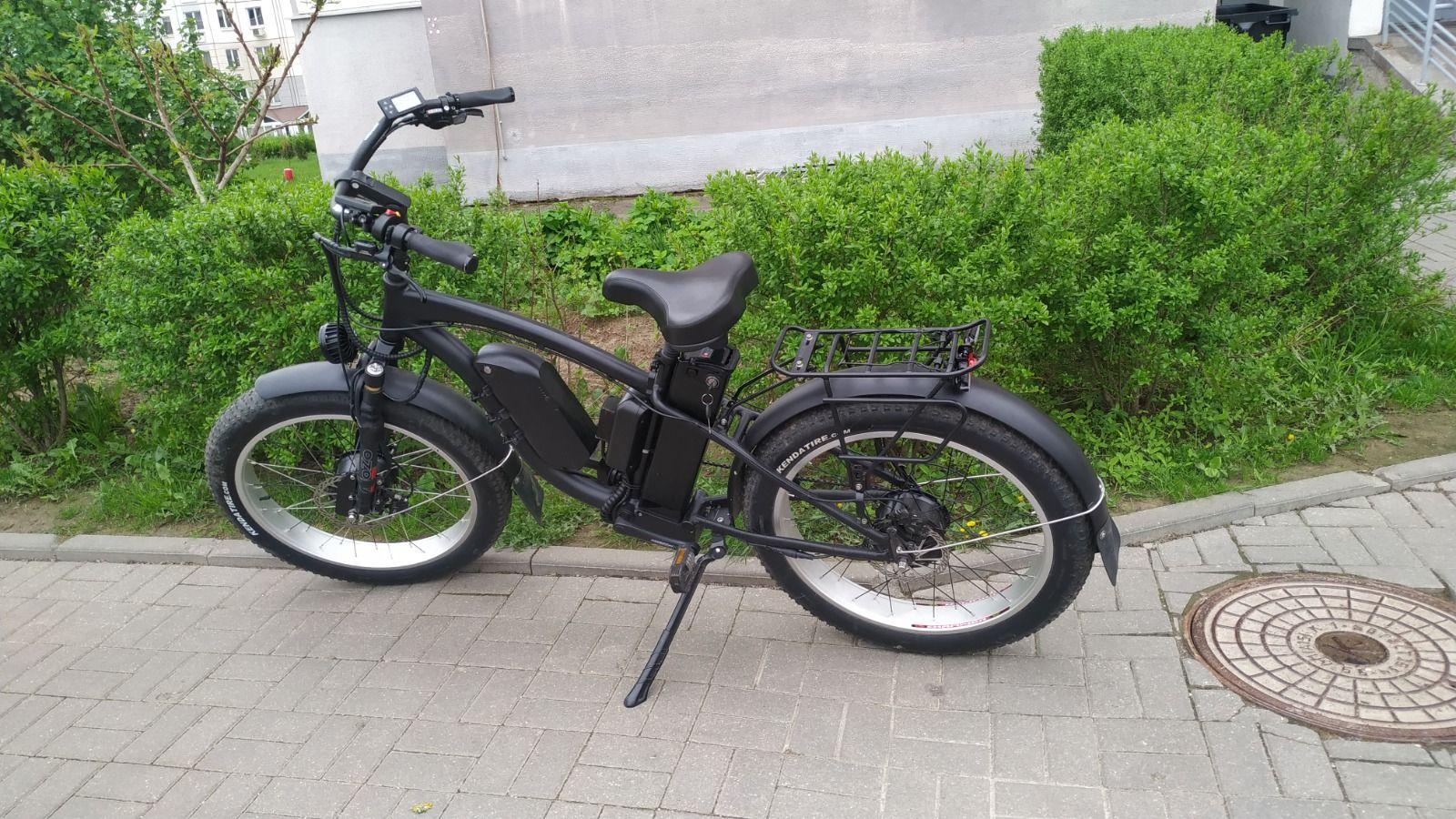 Электровелосипед Fat bike в номинале 2700W Полный привод