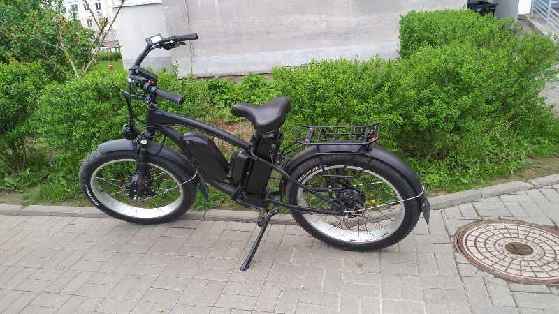 Электровелосипед Fat bike в номинале 2000W Полный привод