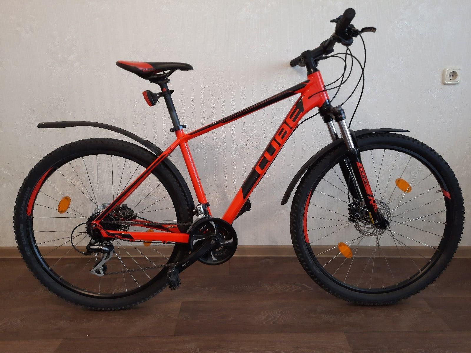 Велосипед Cube AIM SL 27.5 red/black
