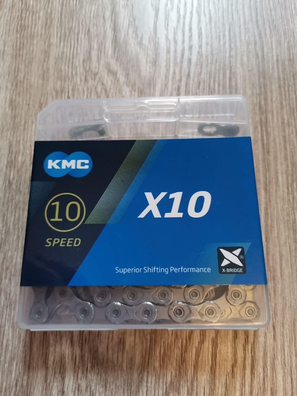 Новые цепи 10ск: Sram 1031 и1051, KMC X10 (10.73 и10.93)