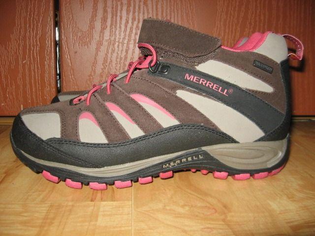 Женские треккинговые мембранные кроссовки Merrell 36-37 размер