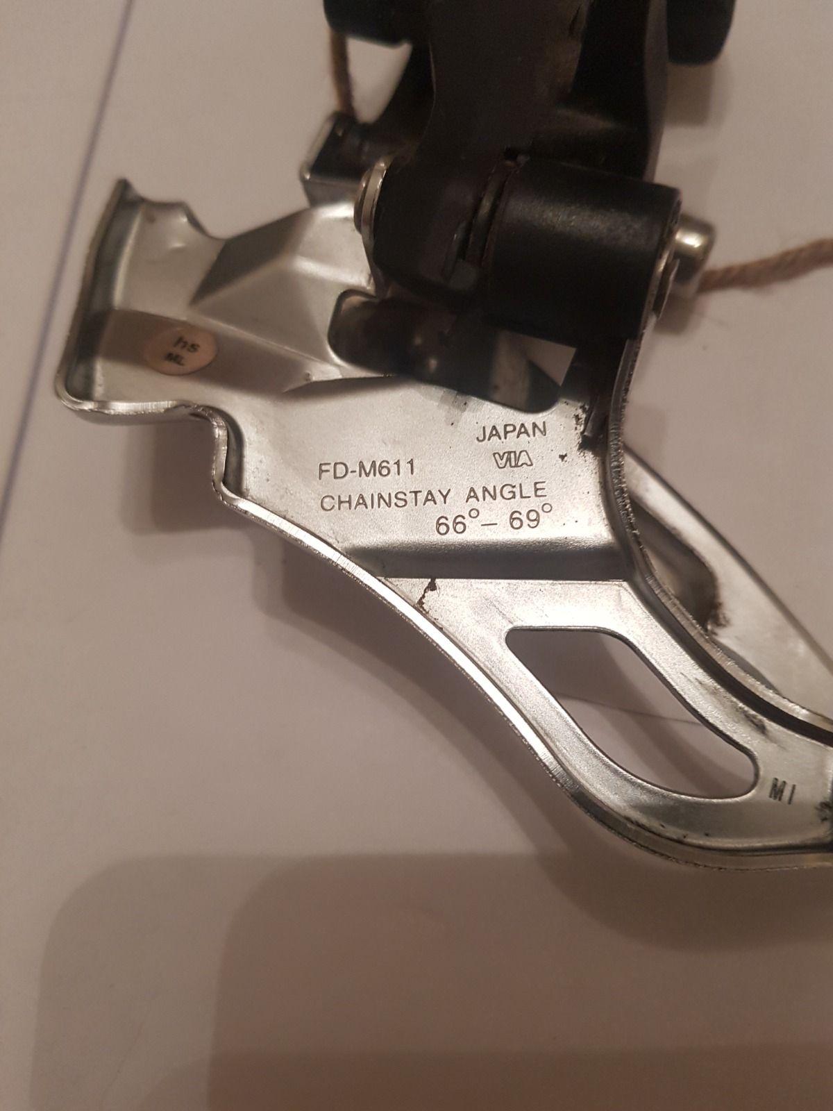 Передний переключатель Shimano Deore FD-M611