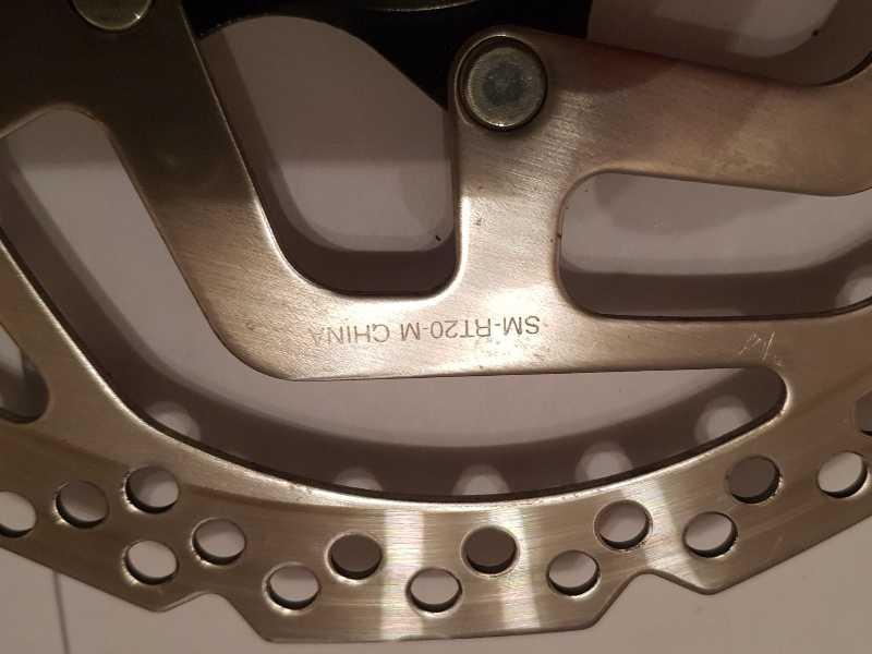 Дисковый тормоз Shimano SM-TR20-M 180мм