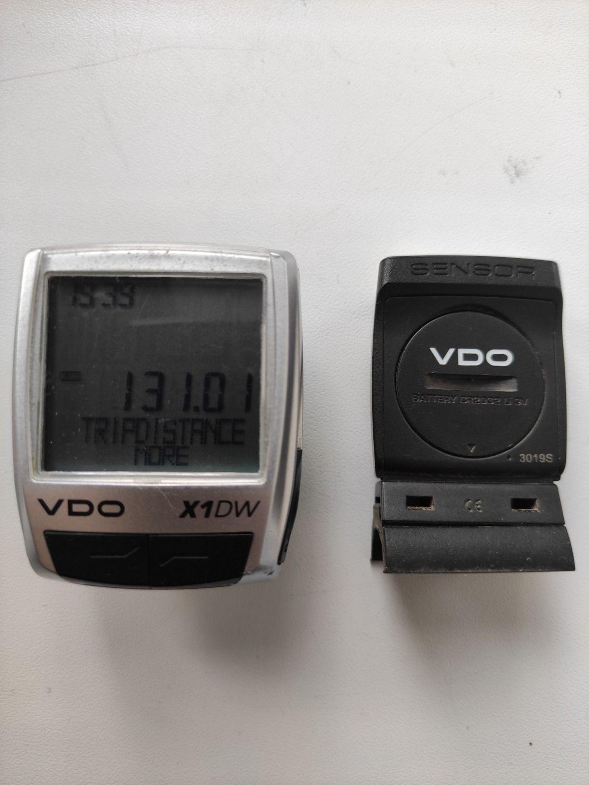 Велокомпьютер VDO X1DW беспроводной.