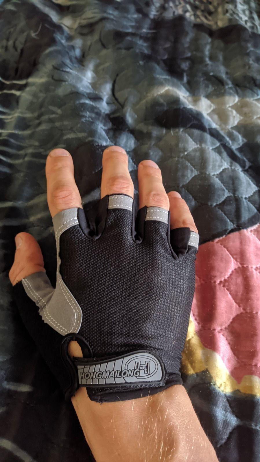 Перчатки с гелевыми вставками