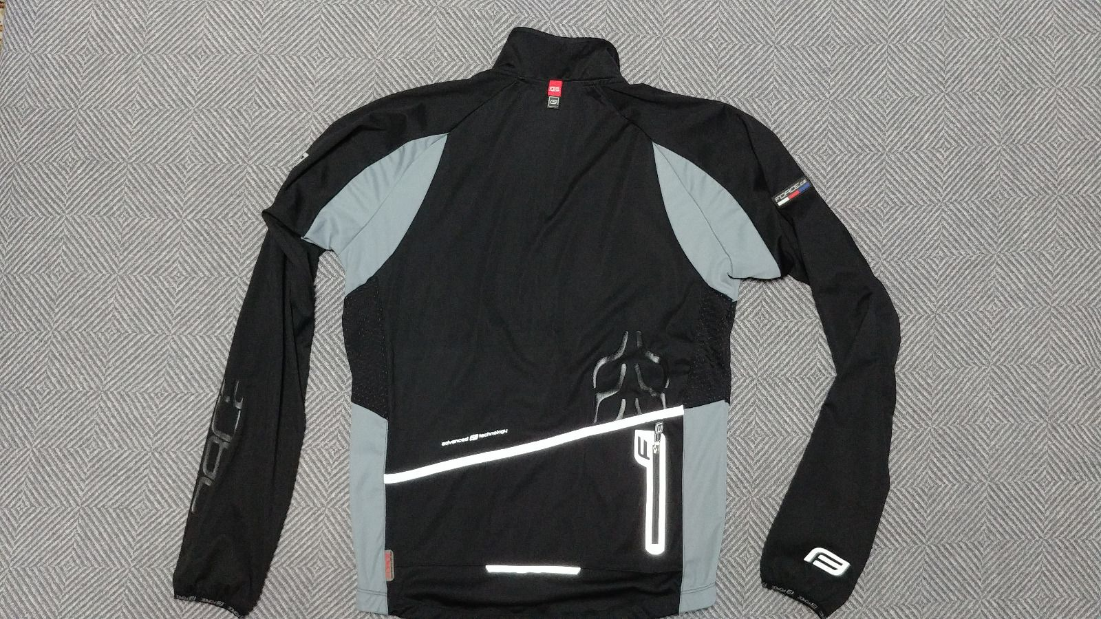 Велокуртка софтшелл, мужская, Force X80, размер М.