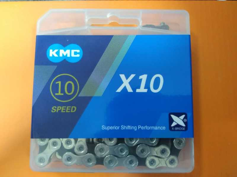 KMC X10 116 Links с замком.