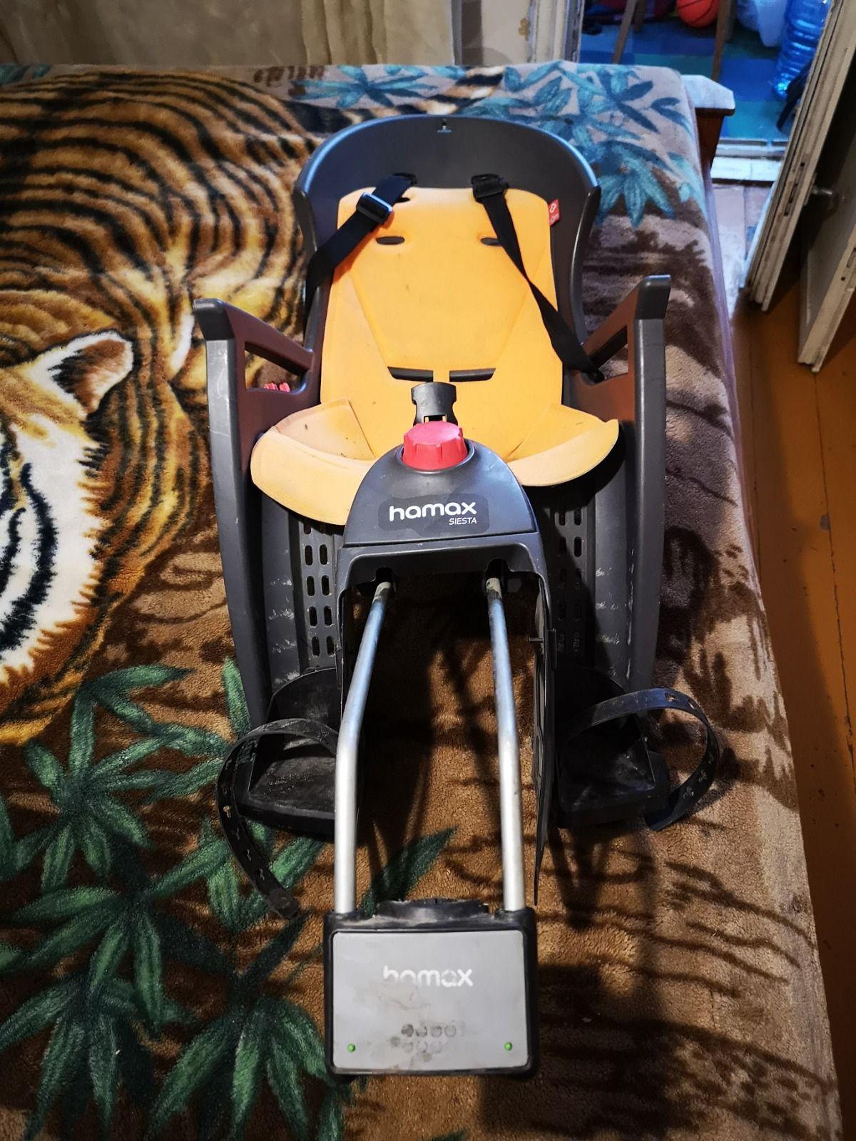 Детское велокресло Hamax siesta