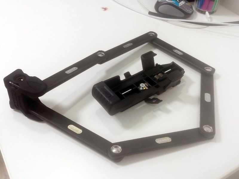Велозамок Abus Bordo Folding Lock 6000/90