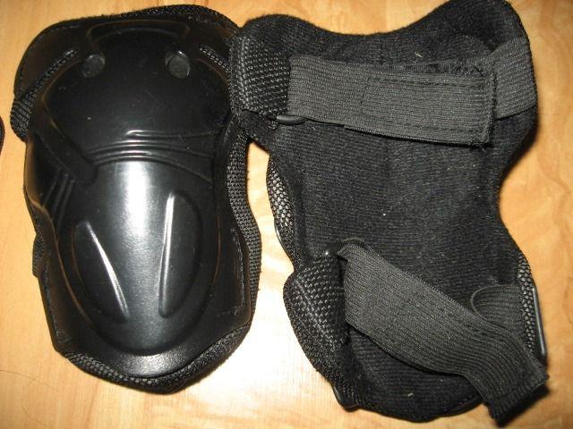 Комплект защиты (наколенники, налокотники, наладонники) новый