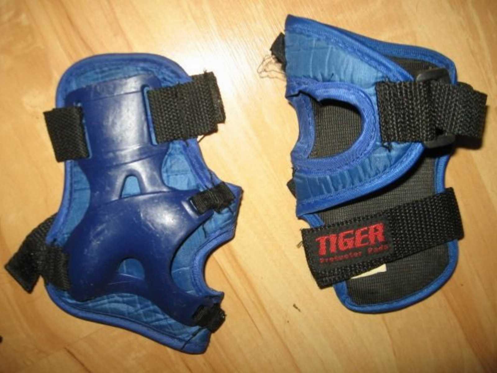 Комплект защиты (наколенники, налокотники, наладонники) Tiger