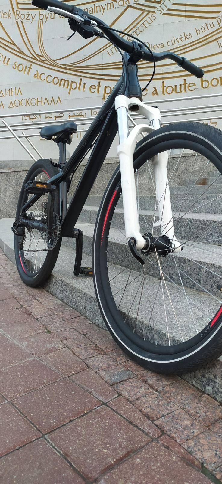 Велосипед MTB кастом с 20-ой осью на базе рамы Bergamont Kiez dirt (2015)