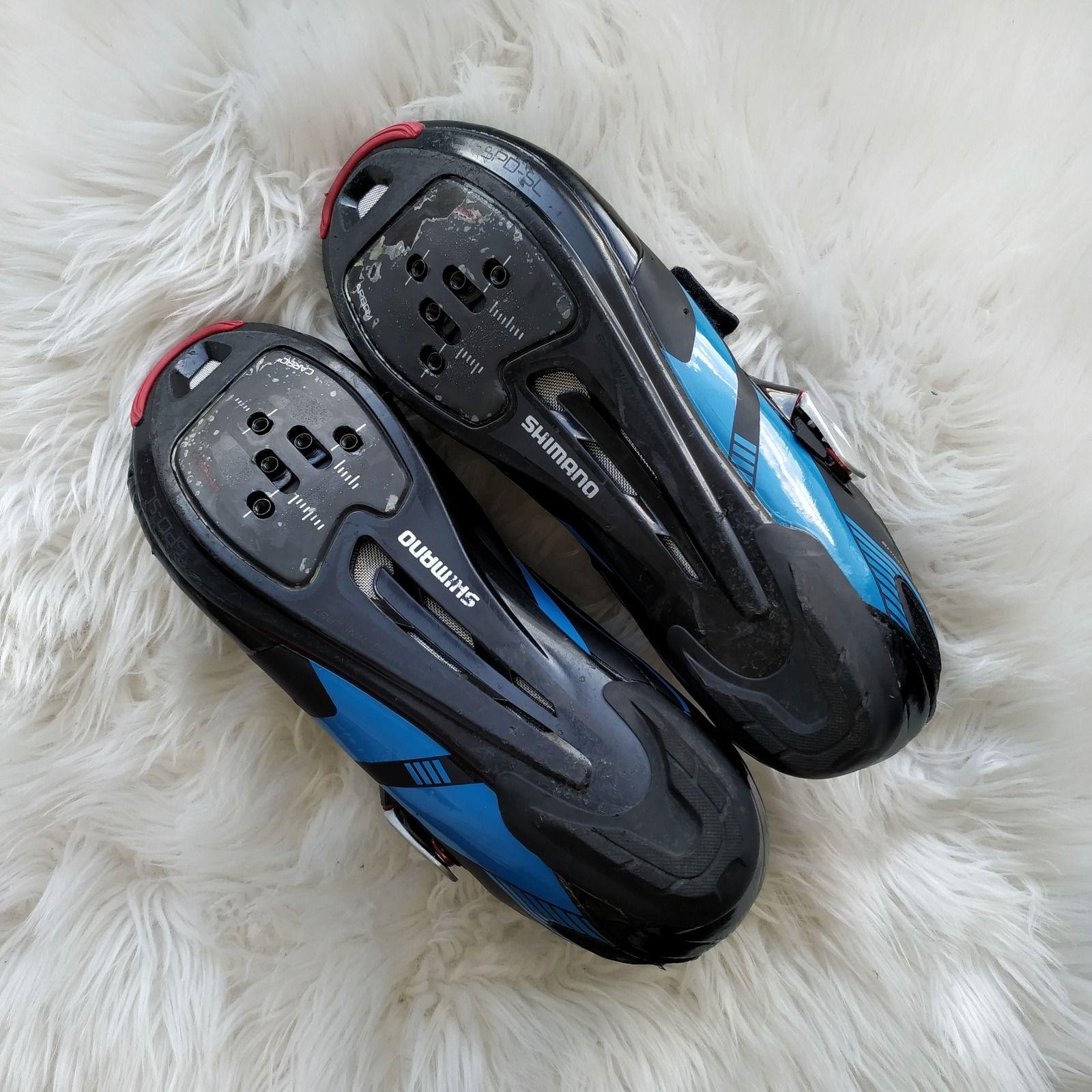 Велотуфли Shimano R107 Carbon