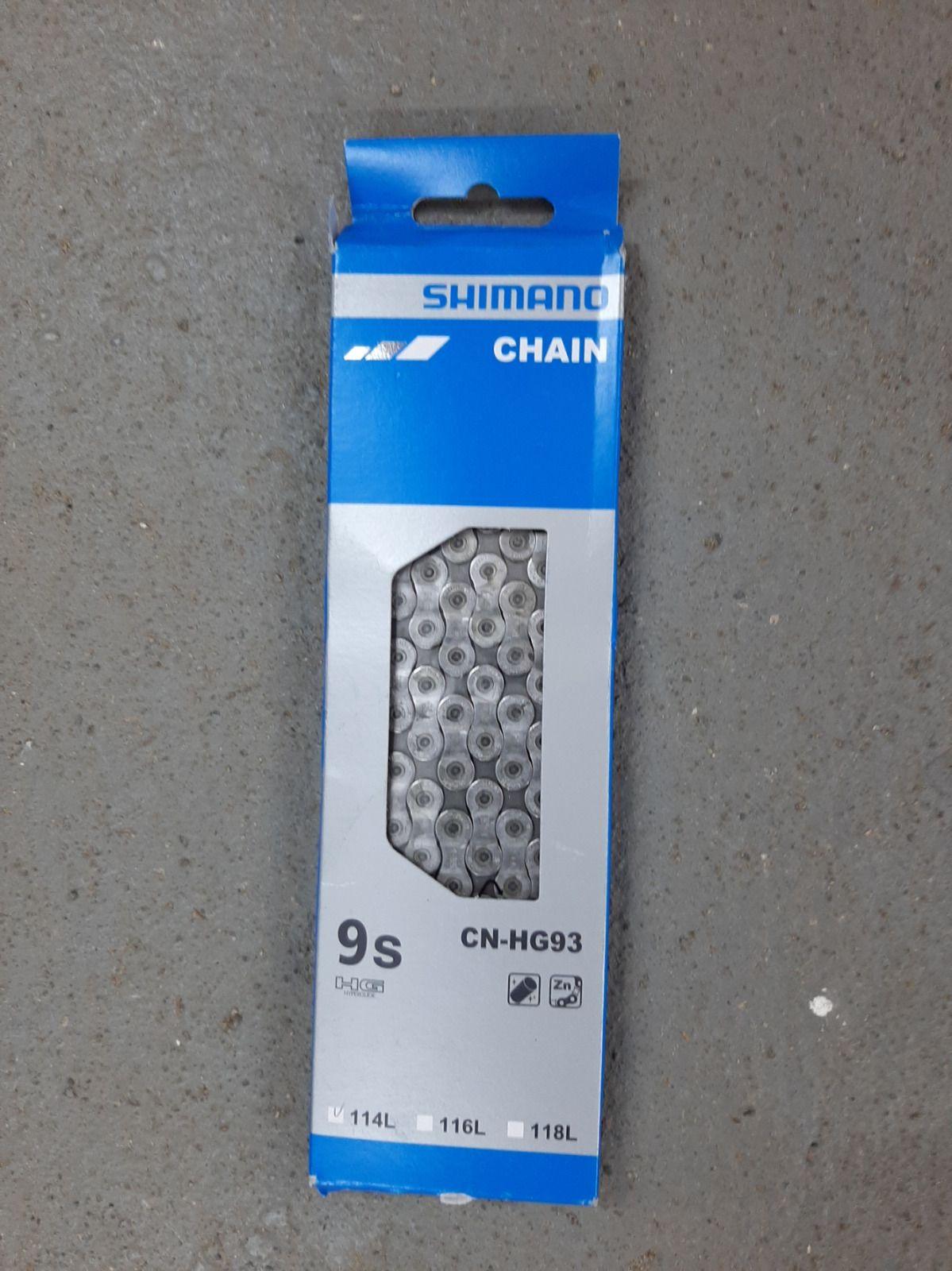 Цепь Shimano 9ск HG93